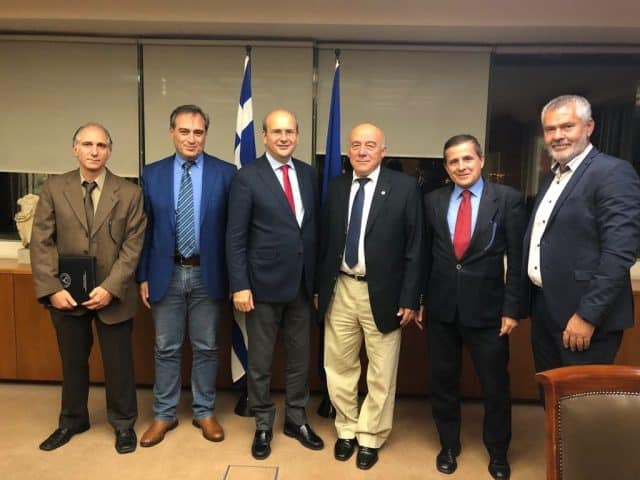 Συνάντηση της Κυνηγετικής Συνομοσπονδίας Ελλάδας με τον Υπουργό Περιβάλλοντος κ. Κωστή Χατζηδάκη